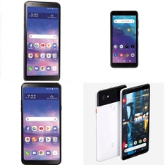 CLEARANCE! 19 Pcs - Cellular Phones - Refurbished (GRADE A, GRADE B, GRADE C - Not Activated) - LG, Google Chromecast, Motorola, ZTE