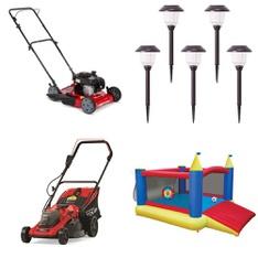 Pallet – 14 Pcs – Lawn Mowers – Customer Returns – Hyper Tough, Member's Mark, Igloo, GreenWorks