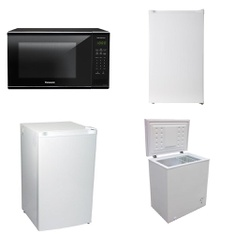 Pallet – 6 Pcs – Microwaves – Customer Returns – Panasonic, Arctic King, Artic King, Koolatron (Kitchen)