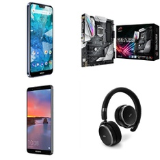 CLEARANCE! 50 Pcs - Other, In Ear Headphones, Over Ear Headphones, Networking - Tested NOT WORKING - Asus, Motorola, Plantronics, Samsung