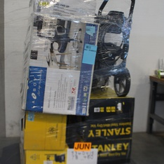 Pallet - 13 Pcs - General Merchandise - Power Tools, Pressure Washers - Customer Returns - Stanley, Space Solutions, Campbell