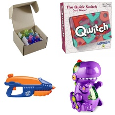 Pallet - 250 Pcs - Action Figures, Boardgames, Puzzles & Building Blocks, Water Guns & Foam Blasters, Stuffed Animals - Customer Returns - Toy Shed, Adventure Force, Hasbro, Lego