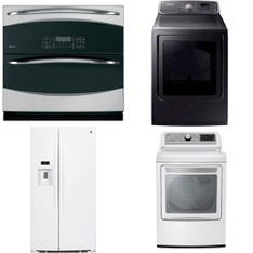 Lowes - 6 Pcs - Appliances - Laundry, Refrigerators, Dishwashers, Toasters & Ovens - New (Scratch & Dent) - GE, Samsung, LG