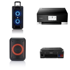 Pallet - 36 Pcs - Portable Speakers, All-In-One - Customer Returns - Onn, Canon