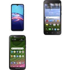 CLEARANCE! 5 Pcs – Cellular Phones – BRAND NEW – Not Activated – Motorola, TRACFONE WIRELESS