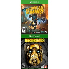 23 Pcs – Microsoft Video Games – New – Destroy All Humans! (XB1), Borderlands: The Handsome Collection (Xbox One)