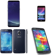 CLEARANCE! 28 Pcs – Mobile & Smartphones – Refurbished (BRAND NEW, GRADE A, GRADE B – Not Activated) – Samsung, LG Electonics, HTC