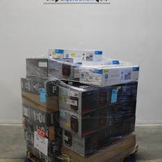 Pallet - 18 Pcs - Portable Speakers, Other - Customer Returns - Blackweb, Arcade 1UP