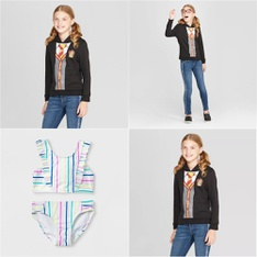 238 Pcs - Girl's Clothes - New - Retail Ready - Cat & Jack, Harry Potter, art class, Nickelodeon