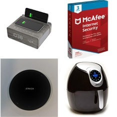 Clearance! 250 Pcs - Accessories, Automotive Accessories, Other, Home Health Care - Used, Like New, New - Retail Ready - Apple, ION Audio, Anker, McAfee