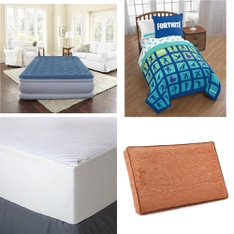 Pallet – 38 Pcs – Covers, Mattress Pads & Toppers, Comforters & Duvets – Customer Returns – Beautyrest, Mainstay's, Aller-Ease
