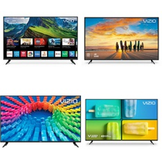 48 Pcs – LED/LCD TVs – Refurbished (GRADE A, GRADE B) – VIZIO