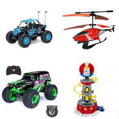 Pallet – 29 Pcs – Vehicles, Trains & RC, Unsorted, Vehicles – Customer Returns – New Bright, Adventure Force, Sky Rover, Monster Jam