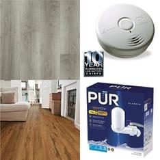 12 Pallets - 2228 Pcs - Hardware, Smoke Alarms & CO Detectors, Kitchen & Dining, Humidifiers / De-Humidifiers - Customer Returns - Brinks, Kidde, Select Surfaces, Kaz