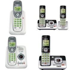 3 Pallets – 429 Pcs – Cordless / Corded Phones, Accessories, Speakers – Customer Returns – VTECH, Onn, Select Surfaces, One For All