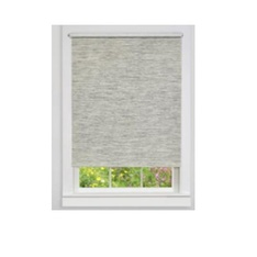 20 Pcs – Achim CPS366HT01 Cordless Paper Privacy Roller Shade – Heather Gray 36″ x 72″ – New – Retail Ready