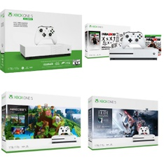 17 Pcs - Microsoft Xbox One Consoles - Refurbished (GRADE A) - Models: 1439, 234-00575, 234-00506, 234-01089