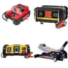 Pallet - 24 Pc(s) - Power, Hand, Power Tools, Automotive Accessories - Customer Returns - EverStart, Stanley, Hyper Tough