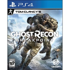 58 Pcs – Sony Video Games – New, Used, Open Box Like New, Like New – Tom Clancy's Ghost Recon Breakpoint PlayStation 4