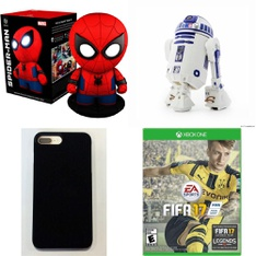 Clearance! 250 Pcs - Accessories, Action Figures, Microsoft, Mattresses - Like New, Used, New, Open Box Like New - Retail Ready - Incipio, Sphero, Orbotix, Blackweb