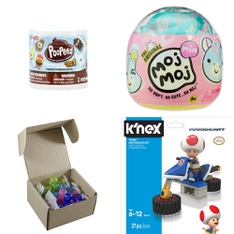 Pallet - 347 Pcs - Action Figures, Dolls, Boardgames, Puzzles & Building Blocks, Not Powered - Customer Returns - Basic Fun, Toy Shed, My Life As, Hasbro
