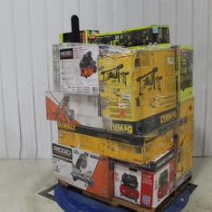 Pallet – 21 Pcs – Power Tools, Trimmers & Edgers, Leaf Blowers & Vaccums – Customer Returns – DEWALT, RYOBI