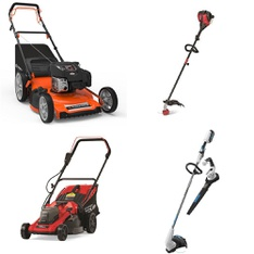 Pallet - 8 Pcs - Mowers, Trimmers & Edgers - Customer Returns - Hyper Tough, Member's Mark, Hart