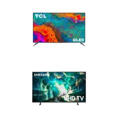 7 Pcs – LED/LCD TVs – Brand New – TCL, Samsung