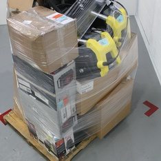 Pallet - 124 Pcs - Accessories, Hand Tools, Tool Accessories, Other - Tested NOT WORKING - Stanley, Plantronics, OtterBox, Microsoft