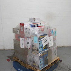 6 Pallets – 168 Pcs – Vacuums, Humidifiers / De-Humidifiers, Hardware, Kitchen & Dining – Customer Returns – Fellowes, Honeywell, Kaz, PUR