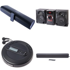 Pallet – 45 Pcs – Speakers, Receivers, CD Players, Turntables – Customer Returns – Onn, onn., One For All