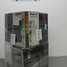 Pallet - 8 Pcs - Refrigerators - Customer Returns - Igloo