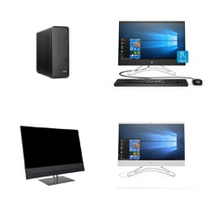 12 Pcs - All In One Computers - Refurbished (GRADE A, GRADE B) - HP