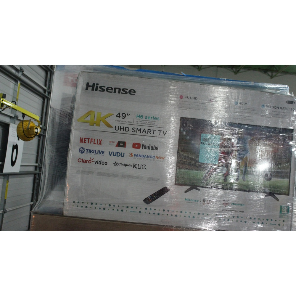 12 Pallets - 201 Pcs - TVs - Tested Not Working (Cracked Display) - VIZIO,  TCL, LG, Samsung
