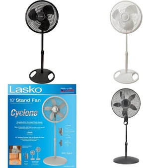 3 Pallets – 112 Pcs – Fans, Air Conditioners – Customer Returns – Lasko, Holmes, UNBRANDED