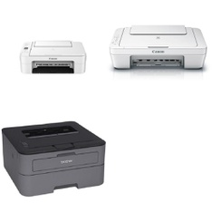 100 Pcs - Printers - Customer Returns - Canon, Brother