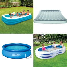 Pallet - 2269 Pcs - Pools & Water Fun, Kitchen & Dining, Hardware, Camping & Hiking - Customer Returns - Play Day, Bestway, Brinks, Summer Waves