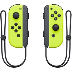 25 Pcs - Nintendo HACAJADAA Neon Yellow Joy-Con (L/R) (Nintendo Switch) - Refurbished ( GRADE A ) - Video Game Controllers