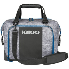 10 Pcs – Igloo 1112009 Snap Down 36-Can Cooler, Navy – New – Retail Ready