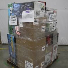 3 Pallets - 188 Pcs - Vehicles, Trains & RC, Kitchen & Dining, Camping & Hiking, Power Tools - Customer Returns - New Bright, Mainstay's, Hyper Tough, Ozark Trail