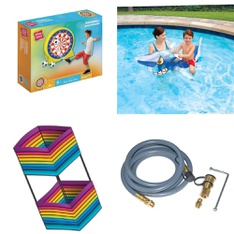 Pallet - 84 Pcs - Outdoor Play, Pools & Water Fun, Patio & Outdoor Lighting / Decor, Grills & Outdoor Cooking - Customer Returns - Play Day, Brain Storm Products, Go! Gater, Nerf