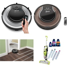 17 Pcs - Vacuums - New, Used, Open Box Like New, New Damaged Box, Like New - Retail Ready - SharkNinja, Shark, Dirt Devil, iRobot