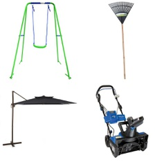 Pallet – 17 Pcs – Outdoor Play, Unsorted, Gardening Hand Tools – Customer Returns – Sportspower, Grow IT!, HomeTrends, Simplay3