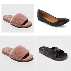 127 Pcs - Women`s Shoes - New - Retail Ready - Mad Love, Mossimo Supply, Universal Thread