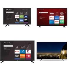20 Pcs – LED/LCD TVs – Refurbished (GRADE A) – RCA, HISENSE, TCL, Samsung