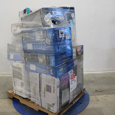 3 Pallets - 149 Pcs - Batteries, Over Ear Headphones, Blankets, Throws & Quilts, Comforters & Duvets - Customer Returns - SHARPER IMAGE, ENERGIZER, Rayovac, Calming Comfort