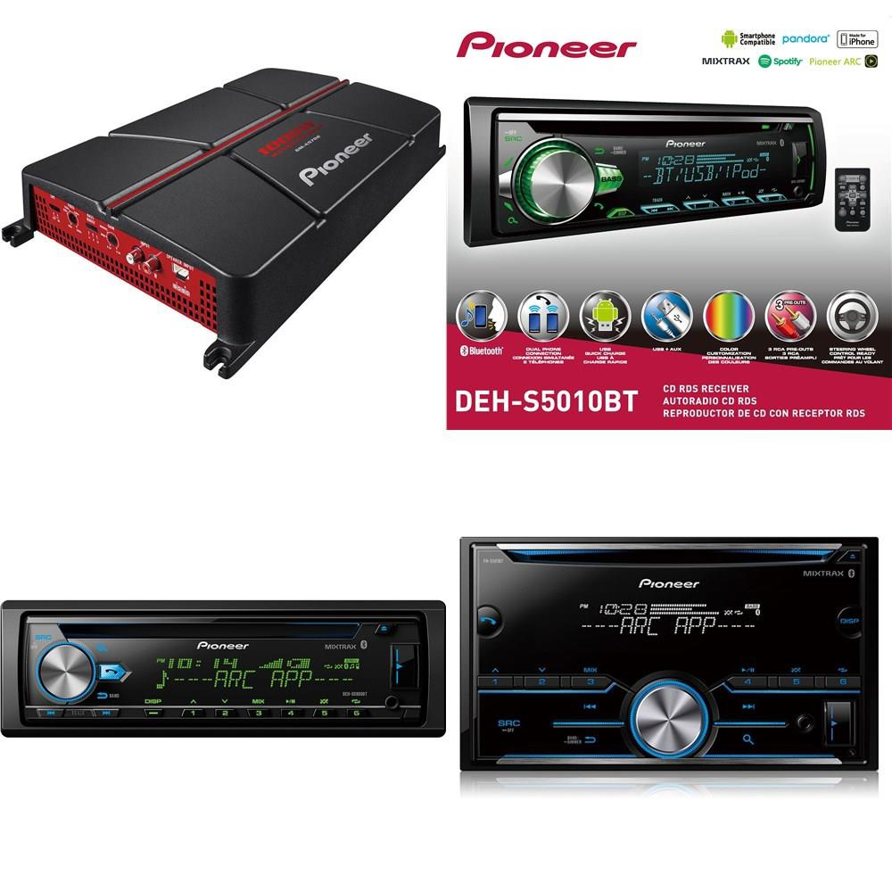 10 Pcs - Car Stereos, Amps & Accessories - Refurbished (GRADE C) - Pioneer,  Kenwood, JVC