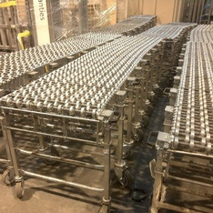 24 Pallets - 11 pcs - Expandable Conveyors and Warehouse Equipment- Used