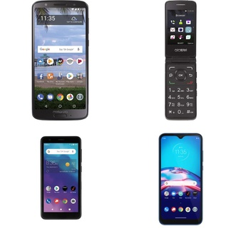 CLEARANCE! 100 Pcs – Cellular Phones – BRAND NEW – Not Activated – Motorola, ZTE, ALCATEL, Cricket