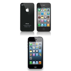 Clearance! 3 Pcs – Apple iPhones – Refurbished (GRADE A, GRADE B – Unlocked) – Models: MC922LL/A, MD654LL/A – Smartphones